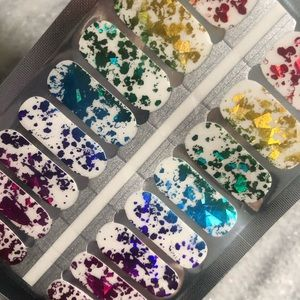 De's Nails - nail stickers clear overlay